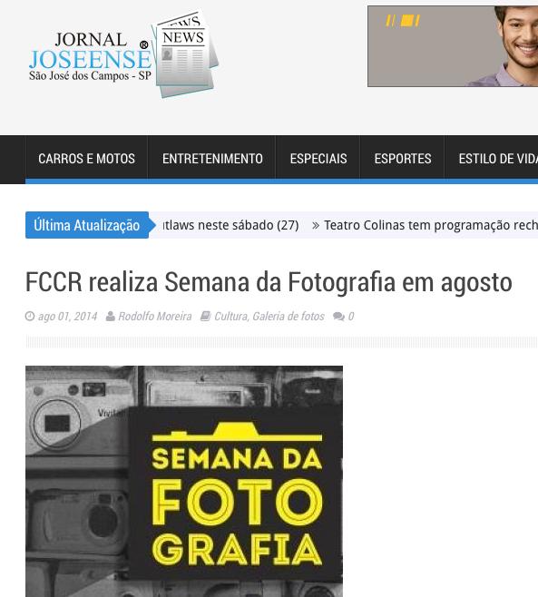 curadoria da Semana da Fotografia de São José dos Campos | FCCR