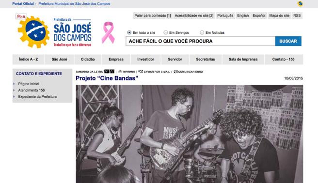 Idealização, realização e fotografia para videoclipe | Banda Homens de Melo | Cine Bandas | Jun/2015