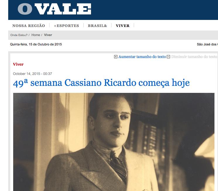 http://www.ovale.com.br/viver/49-semana-cassiano-ricardo-comeca-hoje-1.629912