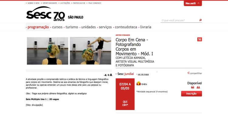 http://www.sescsp.org.br/programacao/89975_CORPO+EM+CENA+FOTOGRAFANDO+CORPOS+EM+MOVIMENTO+MOD+I