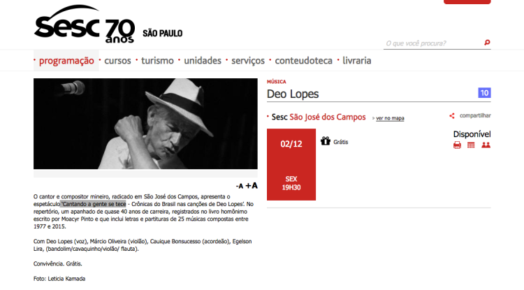 http://www.sescsp.org.br/programacao/110687_DEO+LOPES?m=0