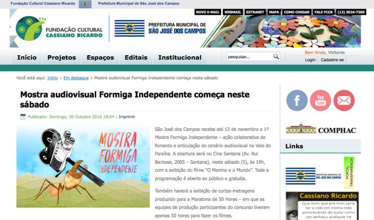 http://www.fccr.sp.gov.br/index.php/em-destaque/5000-mostra-audiovisual-formiga-independente-comeca-neste-sabado-no-cine-santana